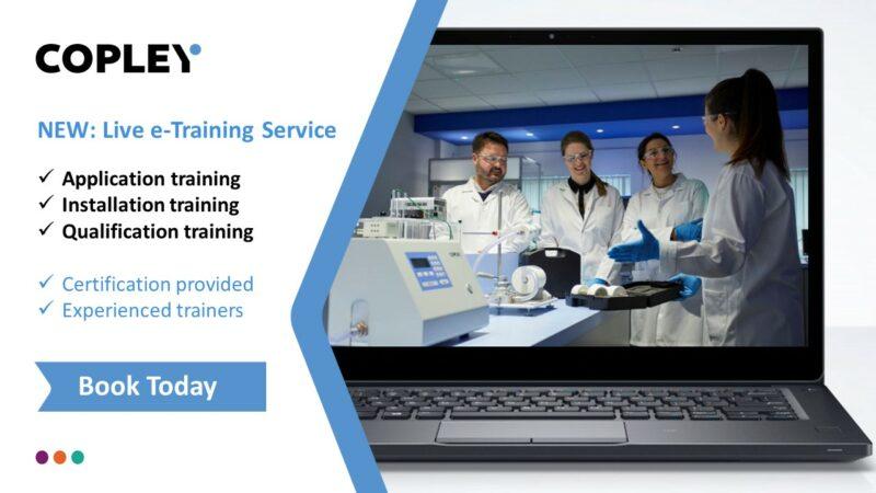 e-Training with Copley Scientific