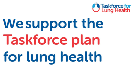 We support the Taskforce plan for Lung Health